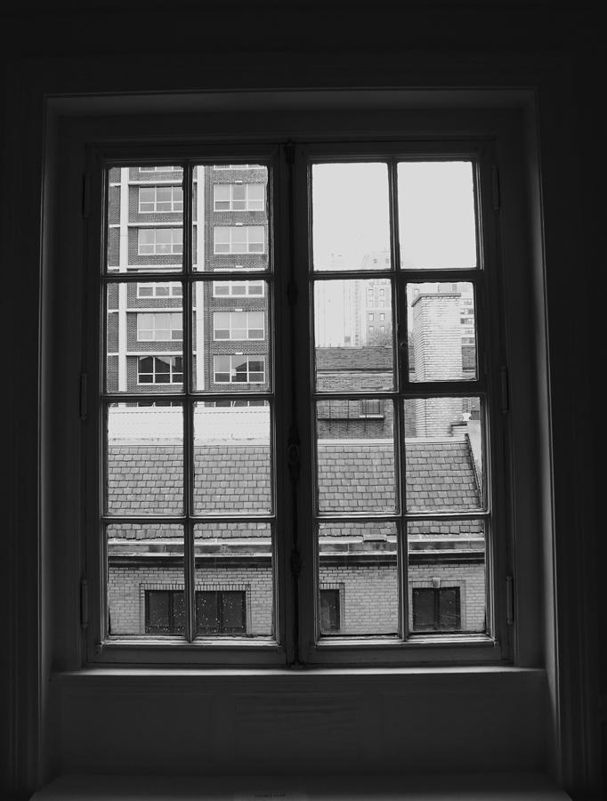 Window Photograph - Lots Of Lines by Anna Villarreal Garbis