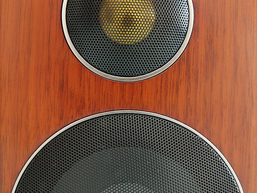 Horizontal Photograph - Loudspeaker by Luigi Masella