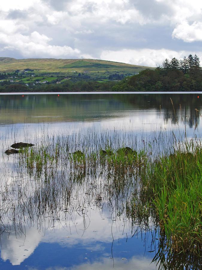 Lake Photograph - Lough Eske Portrait by Steve Watson