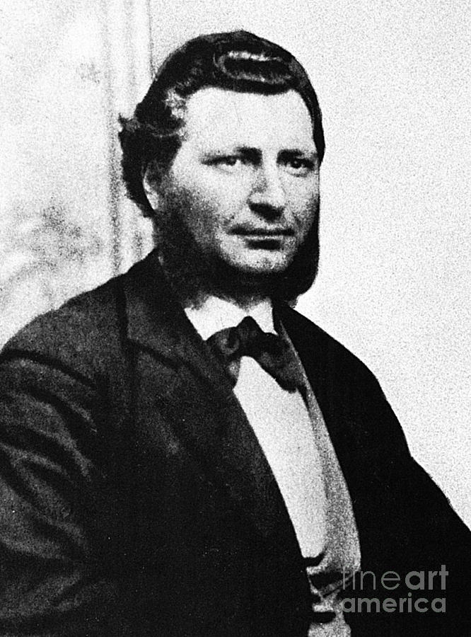 19th Century Photograph - Louis Riel by Granger
