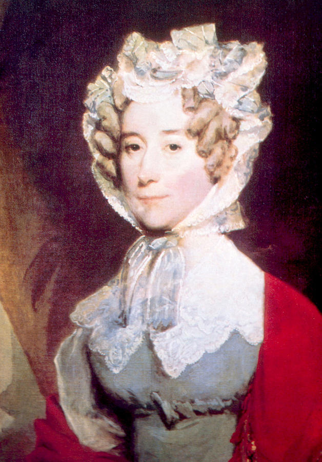 Adams Photograph - Louisa Adams 1775-1852, First Lady by Everett