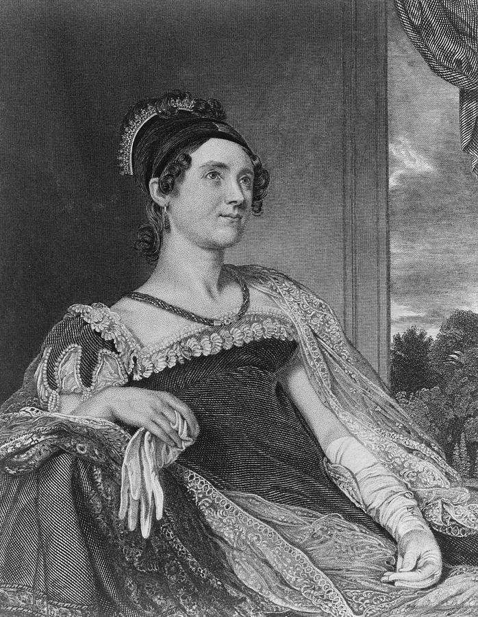 19th Century Portrait Photograph - Louisa Catherine Adams Mrs. John Quincy by Everett