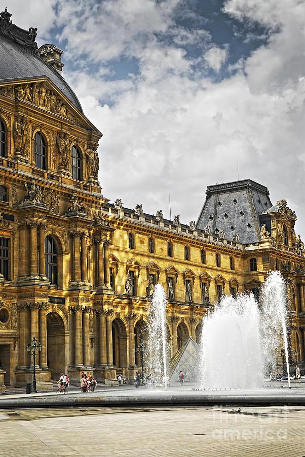 Louvre Photograph - Louvre by Elena Elisseeva