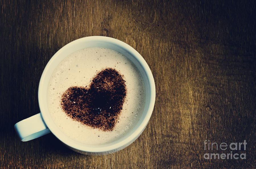 Love Coffee Photograph By Michelle McMahon