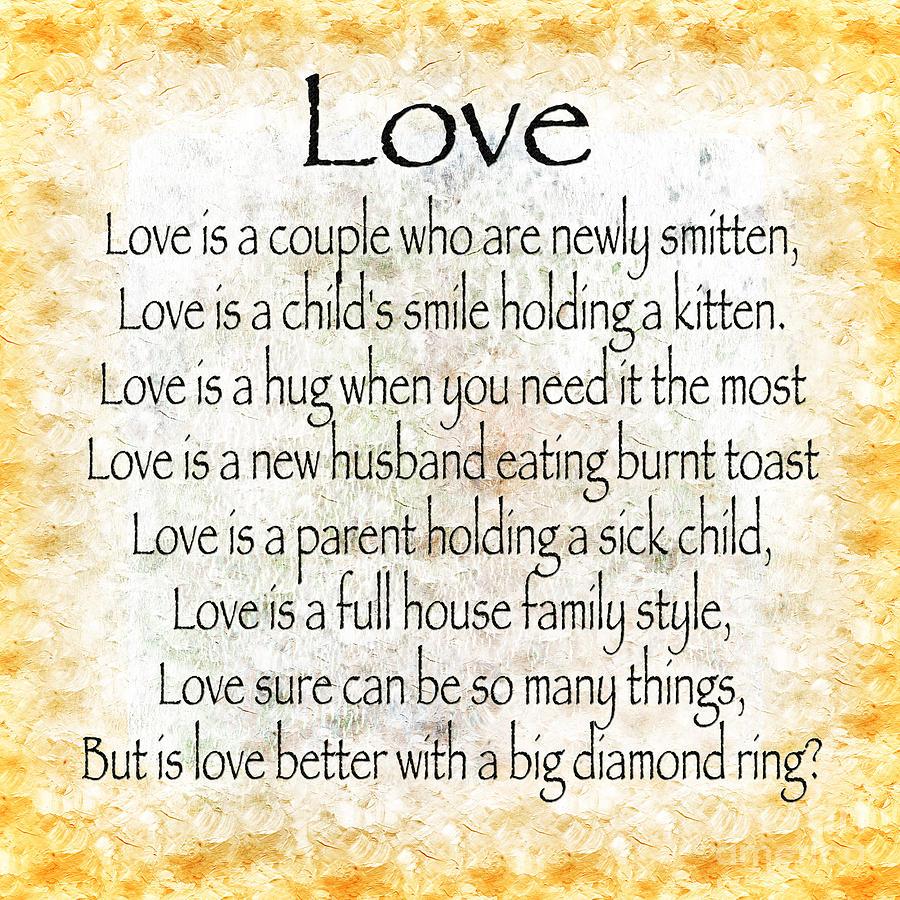 Love Poem In Yellow Digital Art by Andee Design