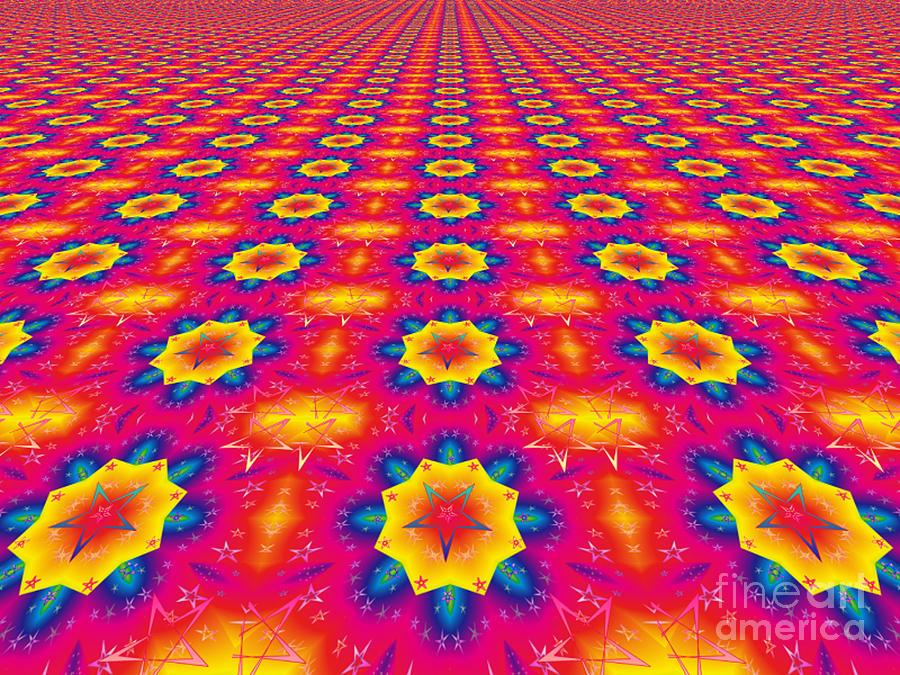 Digital Design Digital Art - Love Is Everywhere by Jeannie Atwater Jordan Allen
