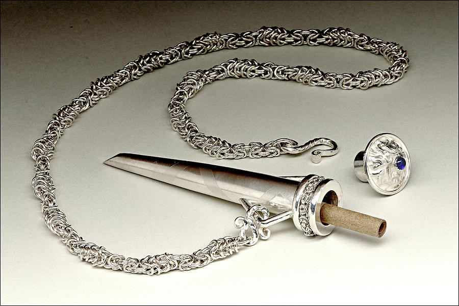 Sterling Silver Jewelry - Love Letter Box Pendant by Beverly Fox