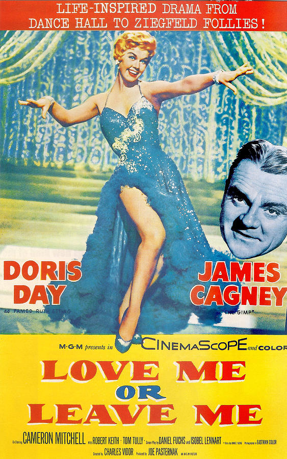 Doris Day Photograph - Love Me Or Leave Me by Georgia Fowler
