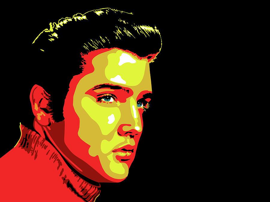 Elvis Painting - Love Me Tender by Nathaniel Price
