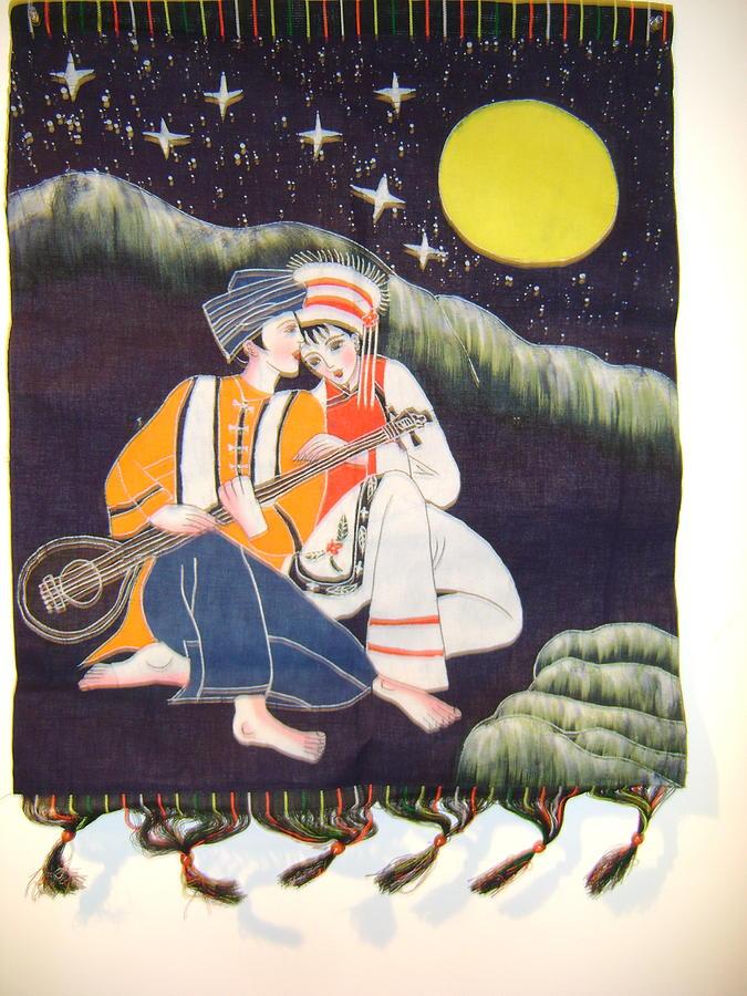 Love Music  Tapestry - Textile by Yan Li