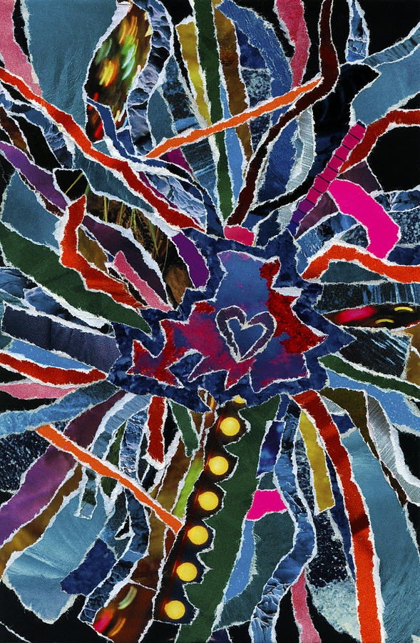 Love Spinner  Mixed Media by Kenneth James