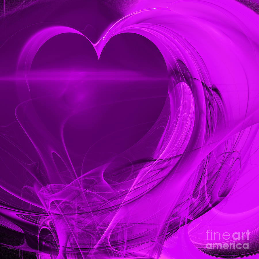 San Francisco Digital Art - Love . Square . A120423.279 by Wingsdomain Art and Photography