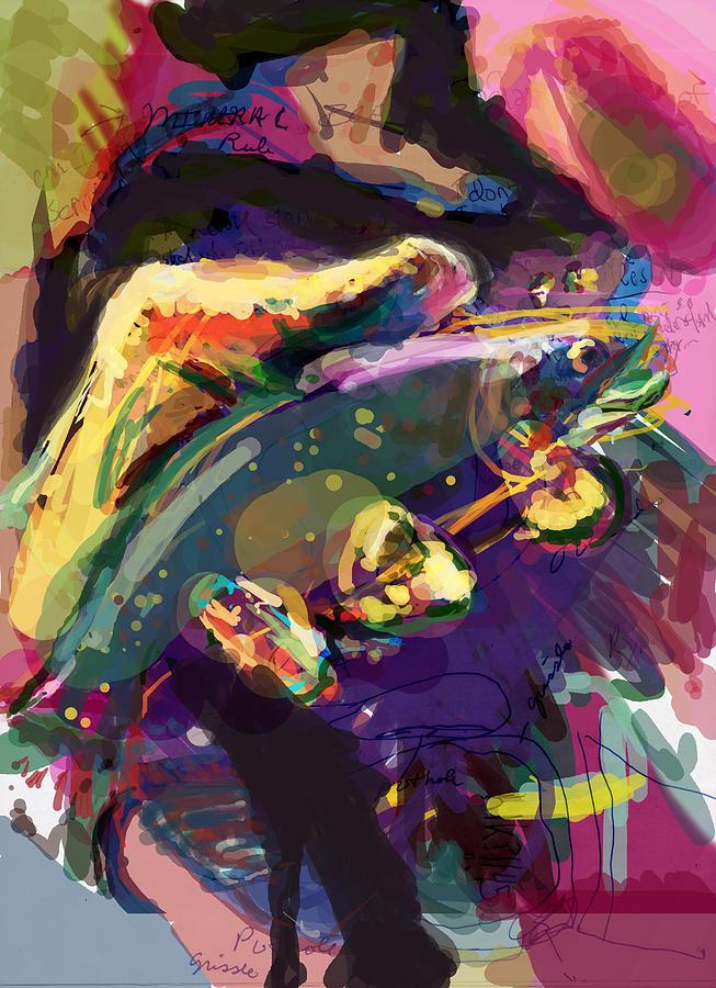 Fish Digital Art - Love Squatch by James Thomas