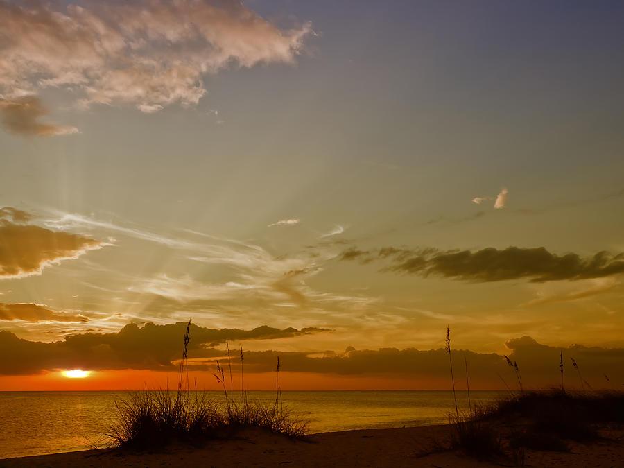 Usa Photograph - Lovely Sunset by Melanie Viola