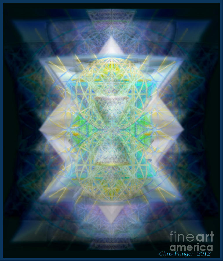 Heart Chakra Digital Art - Loves Chalice From The Druid Tree Of Life by Christopher Pringer