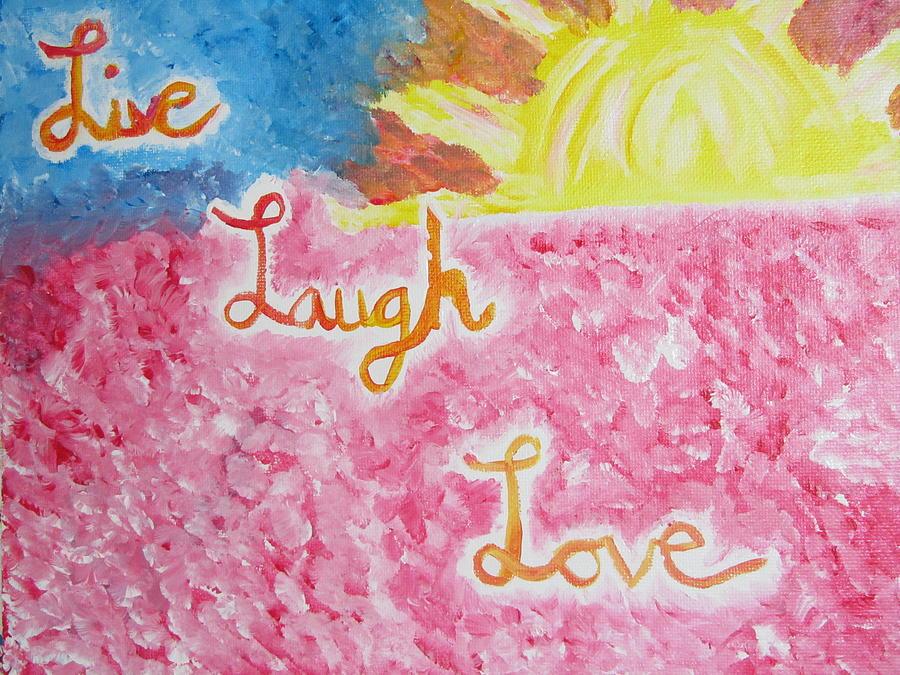 Live Painting - Loving Life by Hannah Stedman