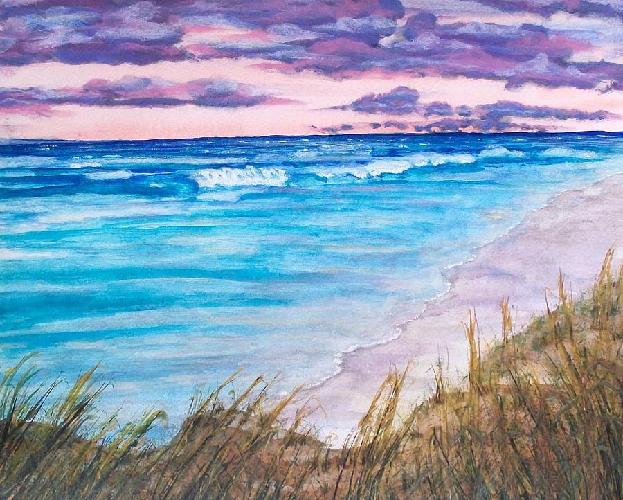 Beach Painting - Low Tide by Jeanette Stewart
