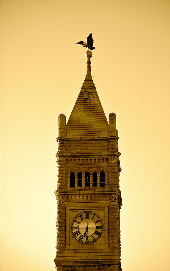 Lowell Clock Tower II by Mary McAvoy