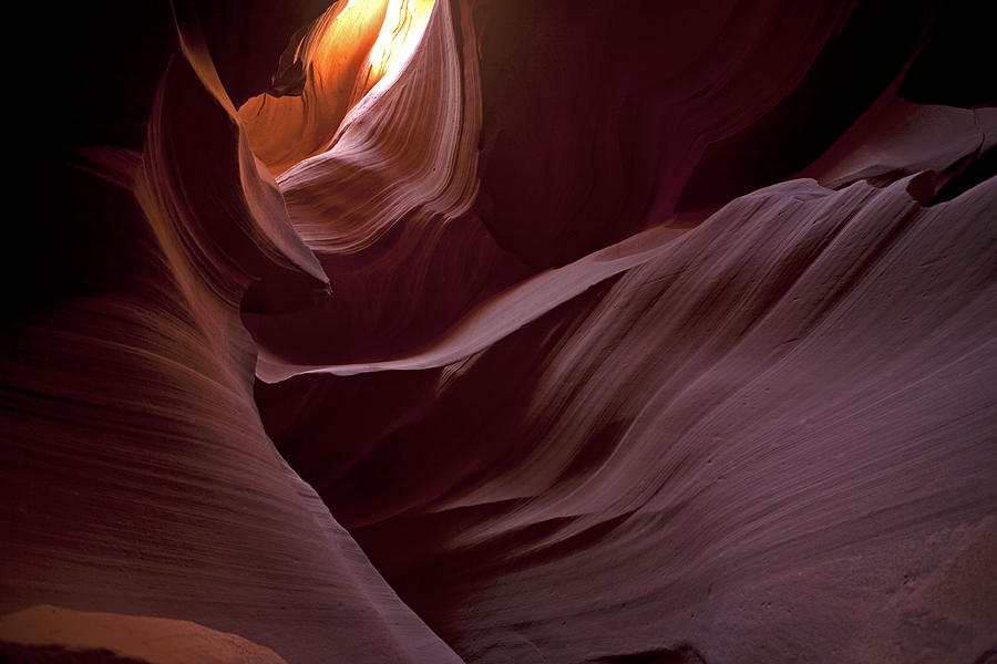 Antelope Photograph - Lower Antelope Eleven Am On The Dot by Gregory Scott