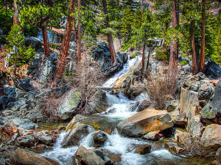 California Photograph - Lower Eagle Falls Emerald Bay Lake Tahoe by Scott McGuire
