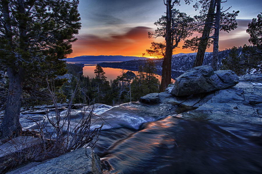 Landscape Photograph - Lower Eagles Falls by A