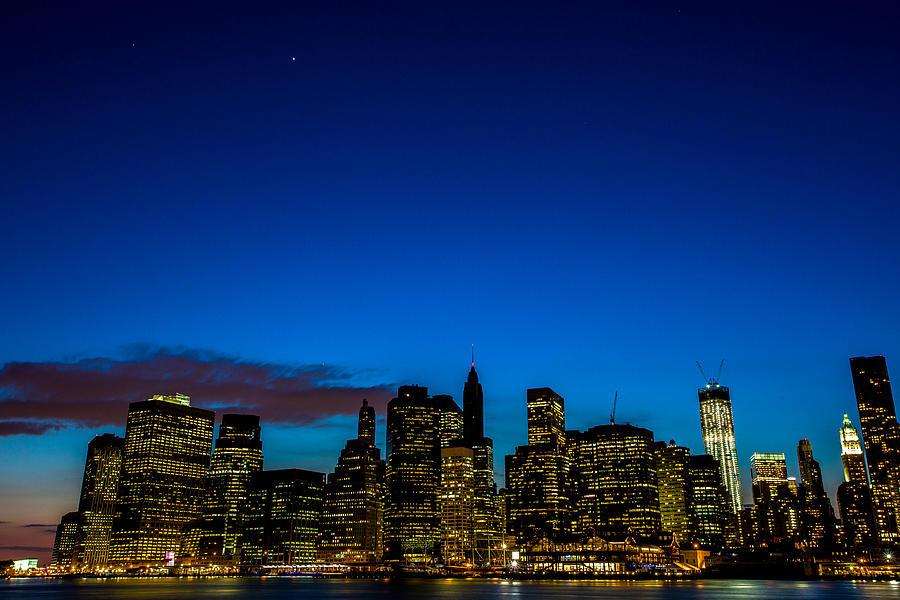 Manhattan Photograph - Lower Manhattan by John Dryzga
