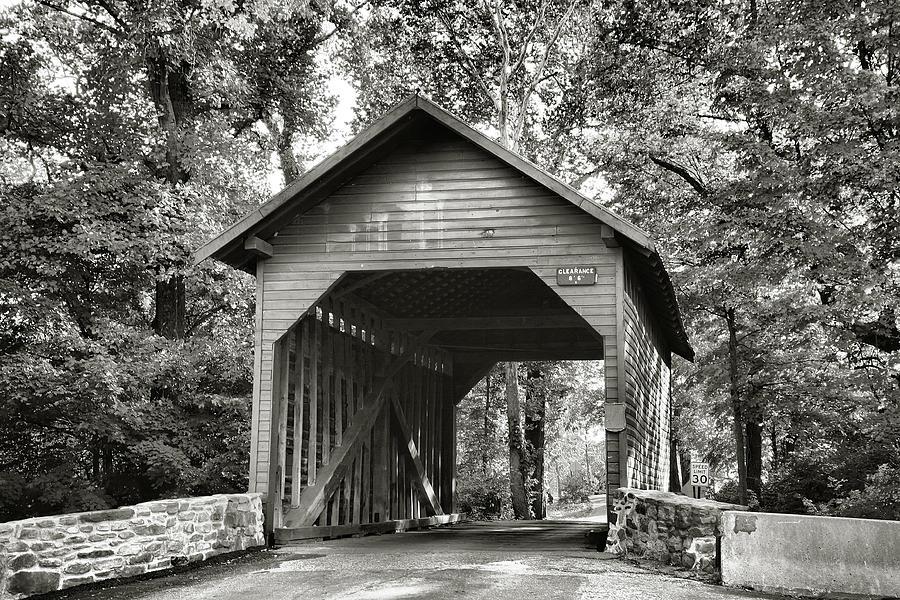 Bridges Photograph - Loys Station Bridge II by Steven Ainsworth