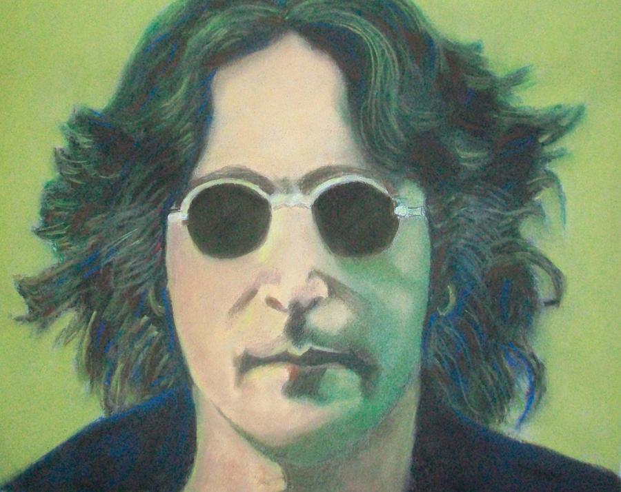 Lsd John Lennon Pastel by Fernando A Hernandez