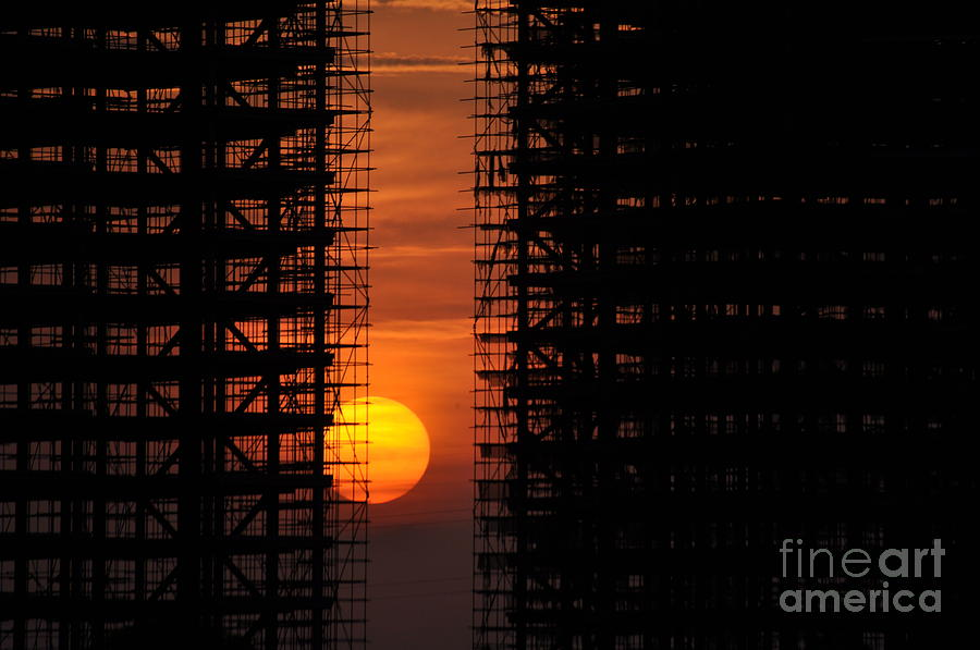 Sun Photograph - Luanda - Angola by Armando Carlos Ferreira Palhau