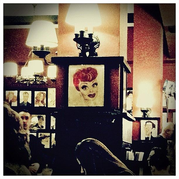 Restaurant Photograph - Lucille Ball by Natasha Marco