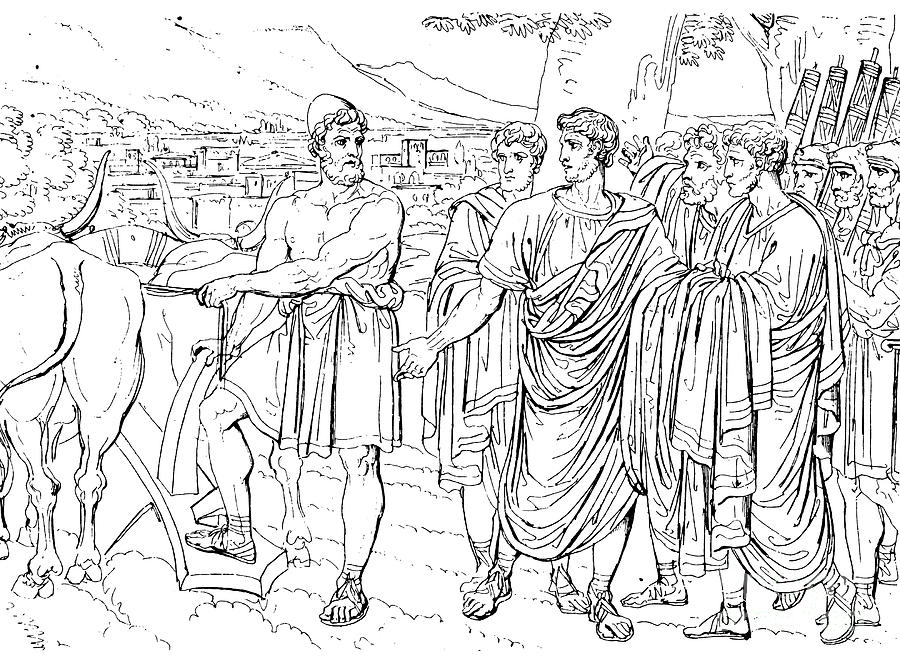 458 B.c Photograph - Lucius Cincinnatus by Granger