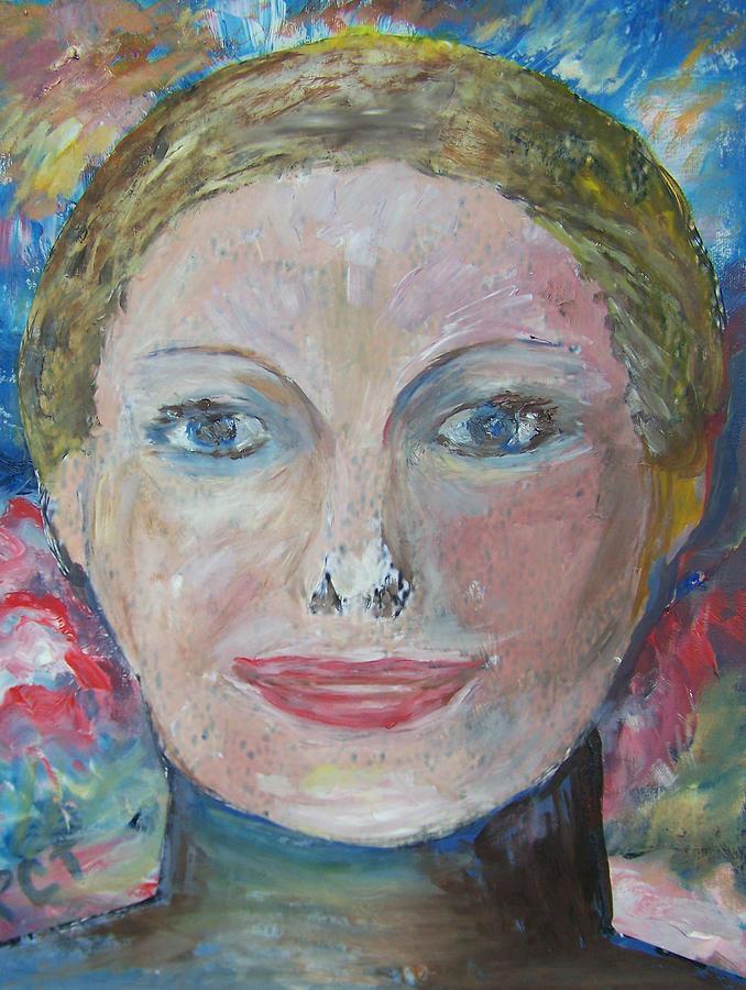 Portrait Mixed Media - Lucretia Cross Clark Nineteenth Century Woman by Patricia Taylor