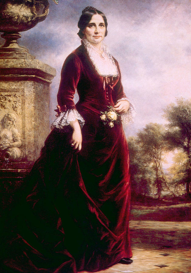 First Lady Photograph - Lucy Ware Webb Hayes 1831-1889, First by Everett
