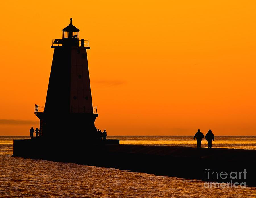 Ludington Lighthouse Photograph