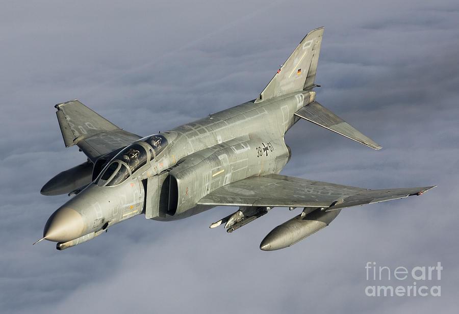 Germany Photograph - Luftwaffe F-4f Phantom II by Gert Kromhout