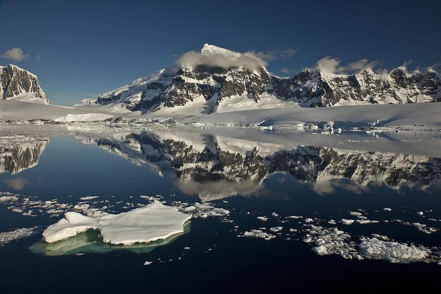 Antarctica Photograph - Luigi Peak Wiencke Island Antarctic by Colin Monteath