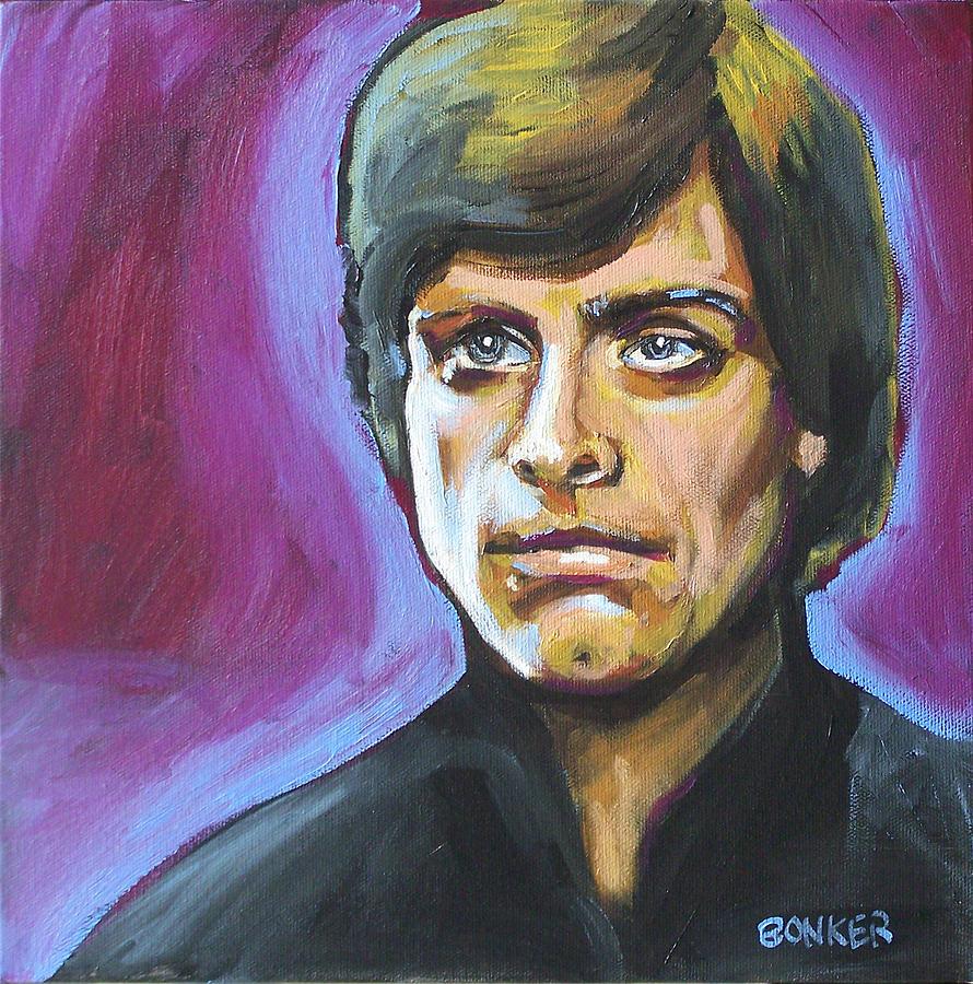 Luke Skywalker Painting by Buffalo Bonker