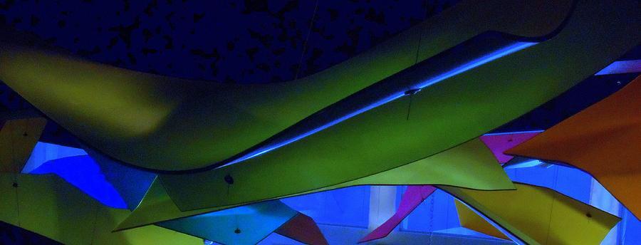 Abstract Digital Art - Luluminous 1 by Randall Weidner