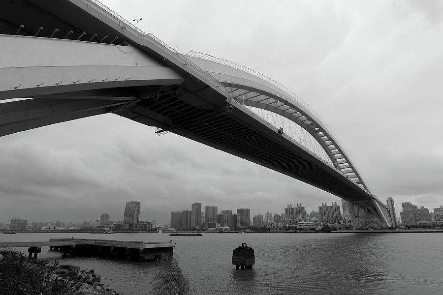 Horizontal Photograph - Lupu Bridge by YGLow