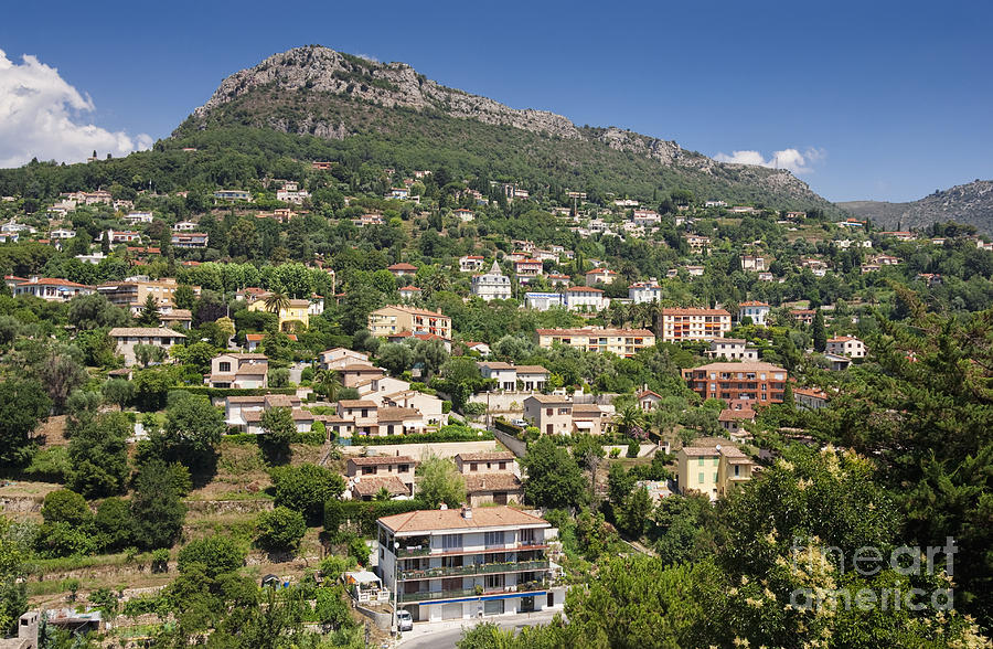 Luxury Hillside Houses And Apartments In Provence Photograph By Jon Boyes