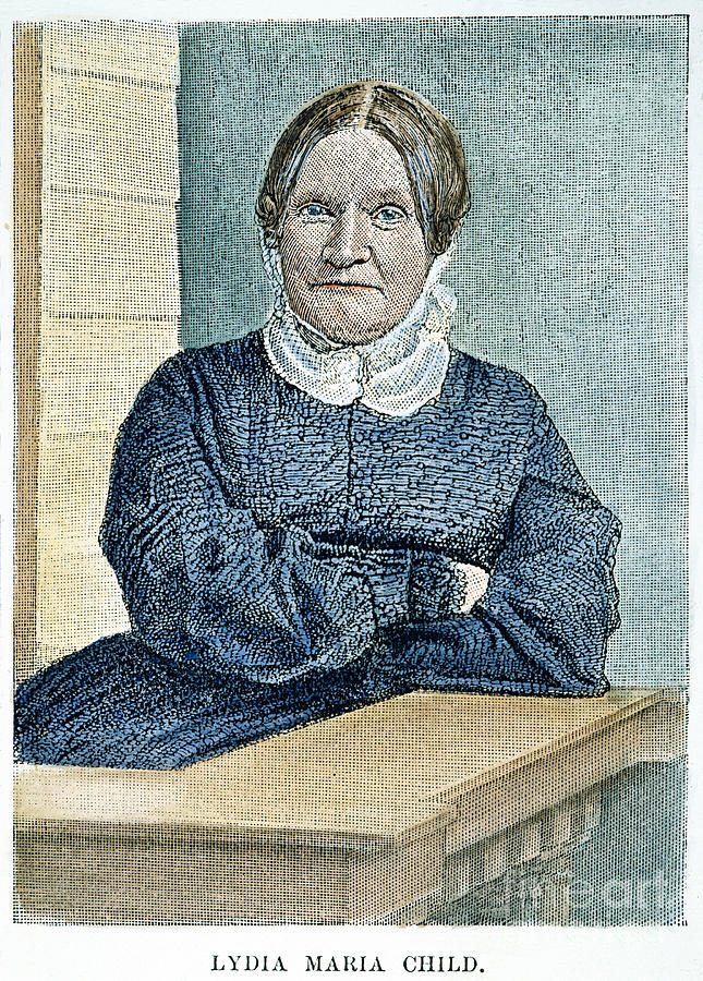 19th Century Photograph - Lydia Maria Child (1802-1880) by Granger