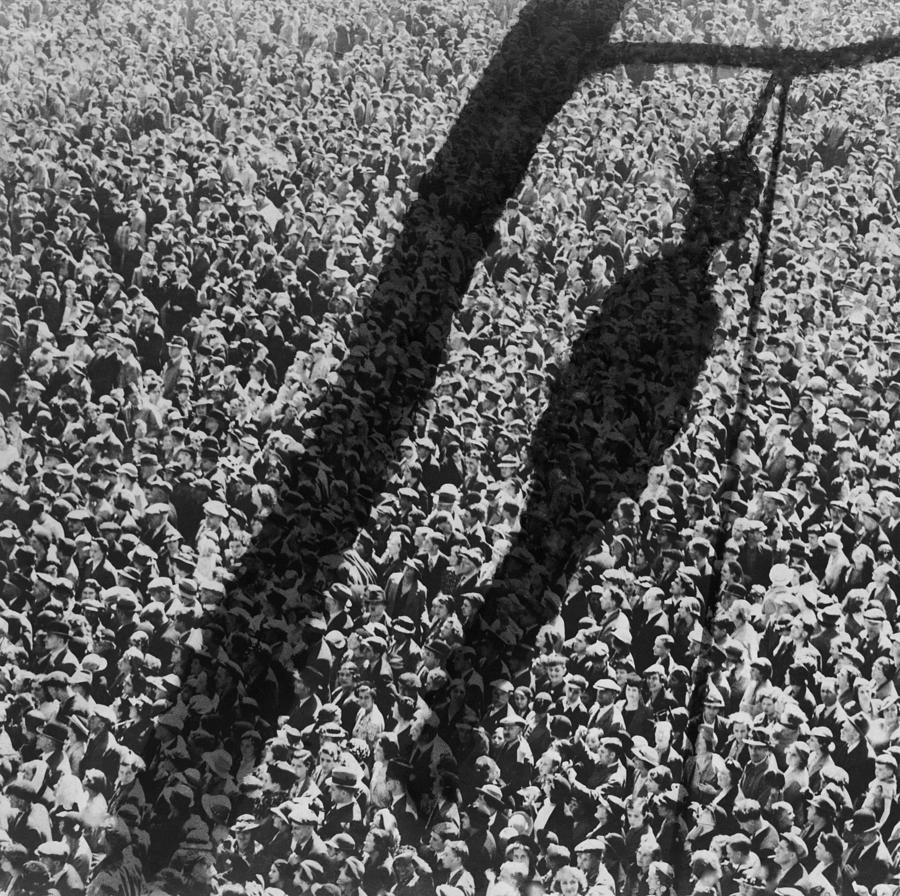 History Photograph - Lynching. The Shadow Of Lynching by Everett