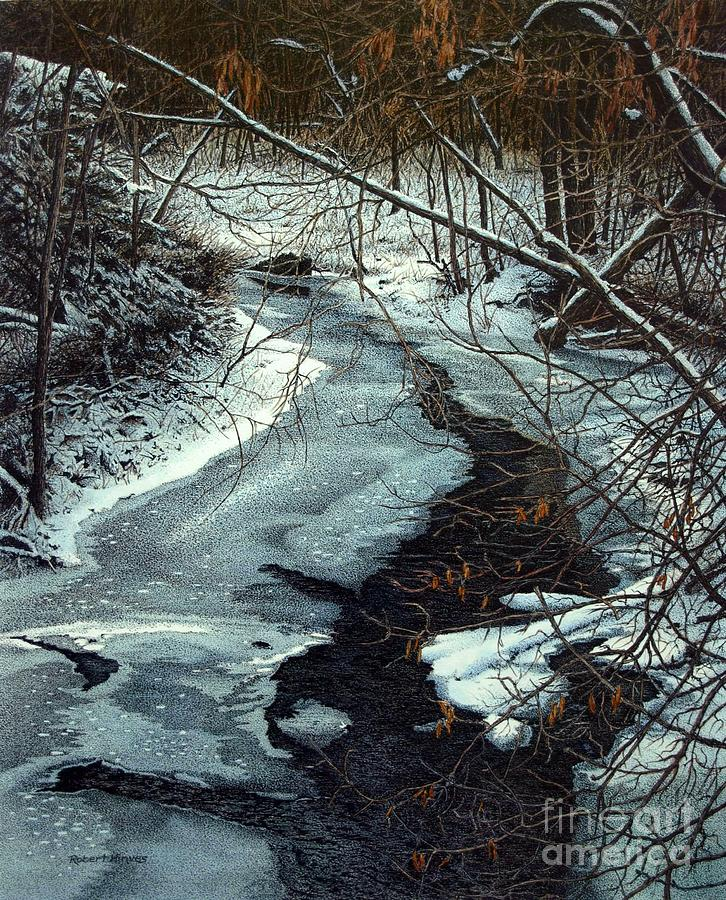Landscape Painting - Lynde Creek by Robert Hinves