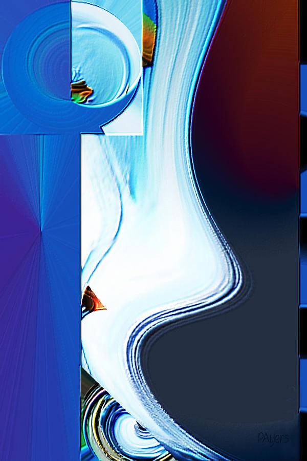 Paula Digital Art - Lyrica by Paula Ayers