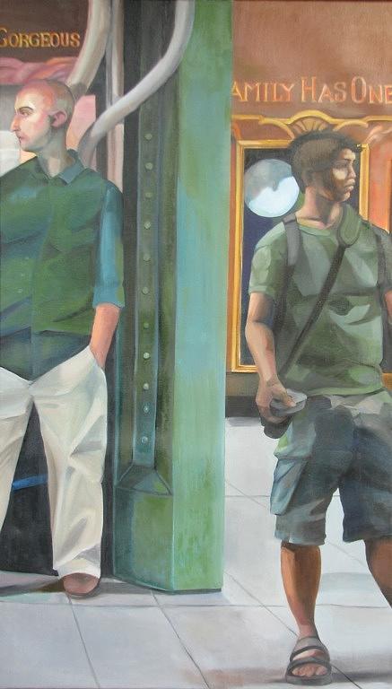 Lyrical Journey Painting by Julie Orsini Shakher