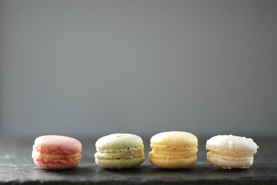 Horizontal Photograph - Macarons by Shawna Lemay