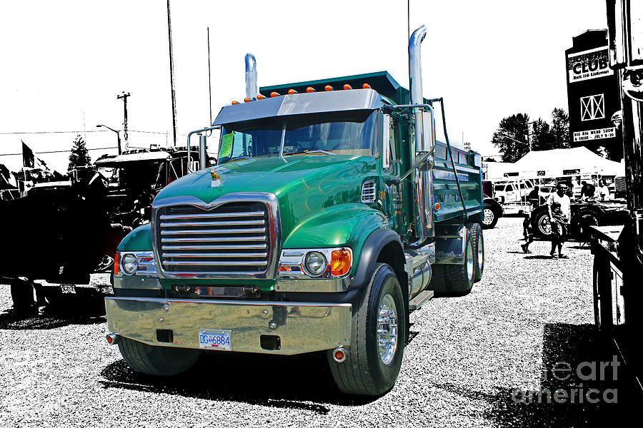 Trucks Photograph - Mack Abstract by Randy Harris