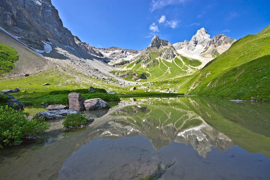 Horizontal Photograph - Madautal At Lechtaler Alpen by @Michi B.