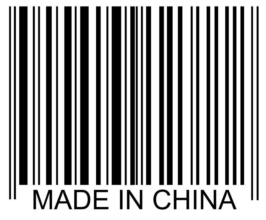 Made In China Barcode Photograph By David Freund