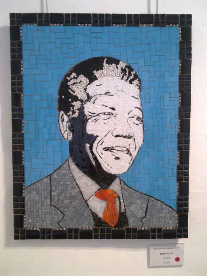 Madiba Mixed Media - Madiba by Dalene Smit